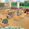 【バトガール】授業風景眺めてると不真面目キャラは居眠りしてたり真面目なキャラはしっかり授業聞いてたりして凄い凝ってるな